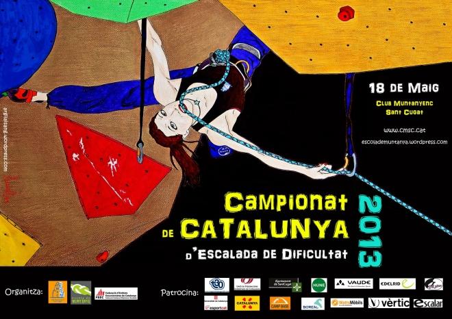 Poster Campionat de Catalunya 2013 Small